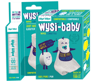 Wysi baby: Starter Kit;  & To Go tube packaging